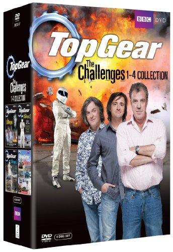Top Gear / トップギア - The Challenges 1-4 コレクション DVD-BOX(738 分収録) BBC [DVD] [Import]