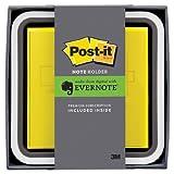住友スリーエム(3M) ポスト・イット(R) 強粘着ノート Evernote Edition ノートホルダー 1色用(Evernoteプレミアムコード 1ヶ月分セット、 ビビットイエロ- 76x76mm 90枚x1パッド) NH-654-EV1Y