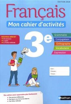 Telecharger Francais Mon Cahier D Activites 3e Pdf Ebook