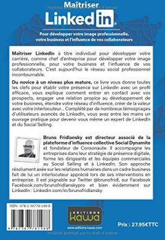 Livres Couvertures de Maîtriser Linkedin - Pour développer votre image professionnelle, votre business et l'influence de vos collaborateurs - Seconde édition