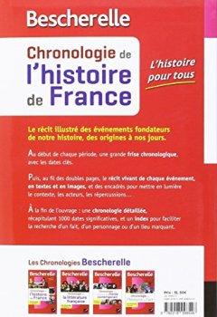 Livres Couvertures de Bescherelle Chronologie de l'histoire de France (édition 2016): le récit des événements fondateurs de notre histoire, des origines à nos jours