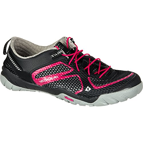 Vasque Women's Lotic Water Shoe,Jet Black/Bright Rose,9 M US