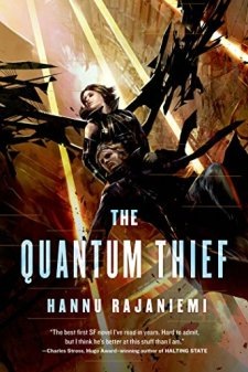 The Quantum Thief (Jean Le Flambeur) by Hannu Rajaniemi| wearewordnerds.com
