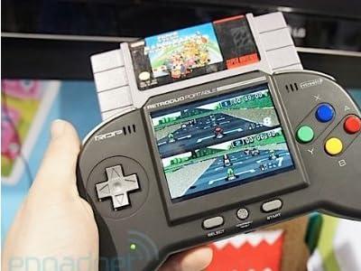 携帯用スーパーファミコン互換機 Retro Duo Portable レッド