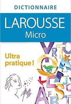 Livres Couvertures de Dictionnaire Larousse Micro, le plus petit dictionnaire