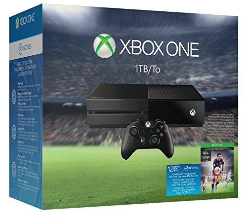 Xbox One 1TB Console - EA Sports FIFA 16 Bundle