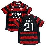 2012-13 ウェスタン・シドニー・ワンダラーズ ホーム半袖 ユニフォーム #21 SHINJI(小野伸二)