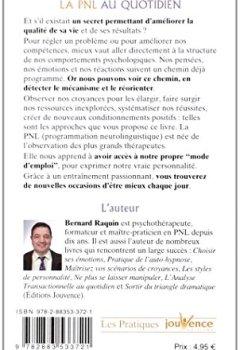 Livres Couvertures de La PNL au quotidien : Découvrir ses comportements psychologiques