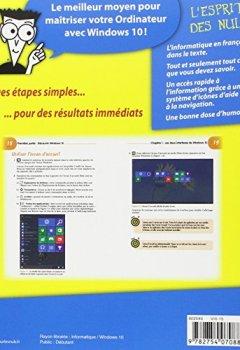 Livres Couvertures de Windows 10 pour les Nuls Pas à Pas