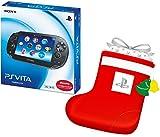 【参考価格から20%OFF】 PlayStation Vita 3G/Wi-Fiモデル クリスタル・ブラック 限定版 (PCH-1100AB01) +デカくつした