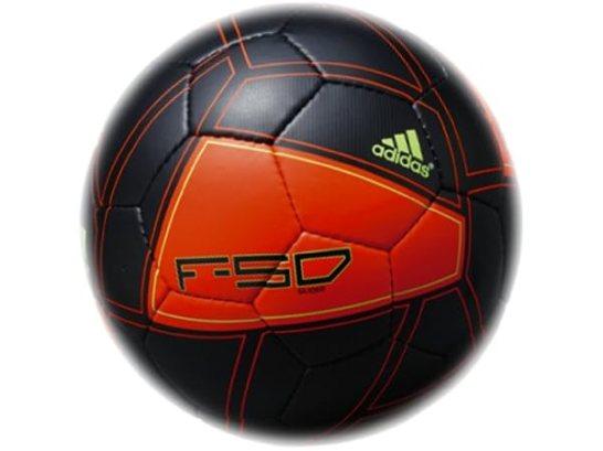 adidas(アディダス) F50 グライダー JFA検定 5号球(BK+ORG) AS5498BK