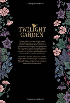 Livres Couvertures de Twilight Garden Coloring Book: Published in Sweden As Blomstermandala