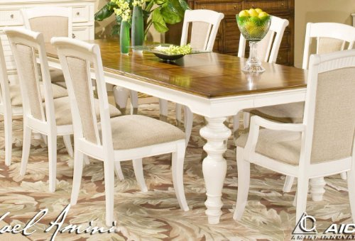 buy low price aico furniture tides island white rect