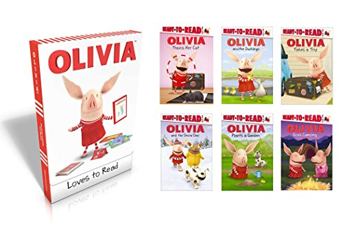 OLIVIA Loves to Read (Ready to Read, Level One: Olivia)