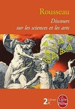 Livres Couvertures de Discours Sur Les Sciences Et Les Arts