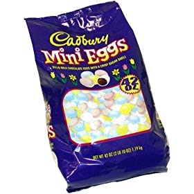 Cadbury Mini Eggs-Milk Chocolate Eggs, 42oz Bag