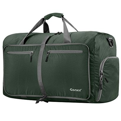 Gonex-80L-Foldable-Travel-Duffle-Bag-for-Luggage-Gym-Sport-Camping-Storage-Shopping-Water-Tear-Resistant-Dark-Green