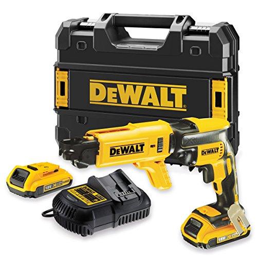 51IybNOwUTL - BEST BUY #1 Dewalt 18V Collated Drywall Cordless Brushless Screwdriver