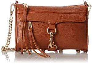 Rebecca Minkoff Mini MAC Convertible Cross-Body Handbag (Almond)
