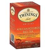 Twinings African Roobios Red Bush Origins Tea 20 Count