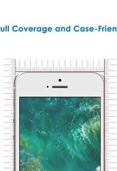 Livres Couvertures de JETech Prime 2-Pack iPhone SE 5S 5C 5 Film Protection en Verre trempé écran protecteur ultra résistant pour iPhone 5/5S/5C/SE