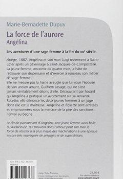 Livres Couvertures de La Force de l'aurore - Angelina T3