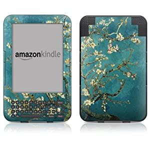 "DecalGirl Kindle Skin (Fits 6"" Display, Latest Generation Kindle) Van Gogh - Blossoming Almond Tree (Matte Finish)"