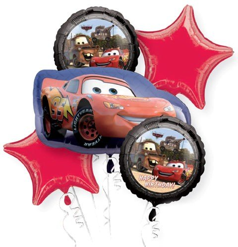 Cars 2 Balloon Bouquet