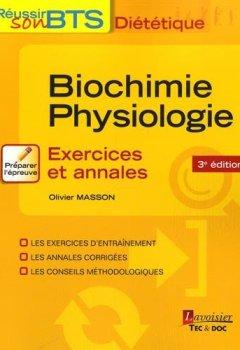 Livres Couvertures de Biochimie-Physiologie : Exercices et annales
