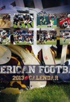 Buchdeckel von American Football 2013 Calendar