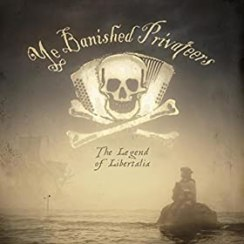 Ye Banished Privateers, The Legend of Libertalia, CD, Cover