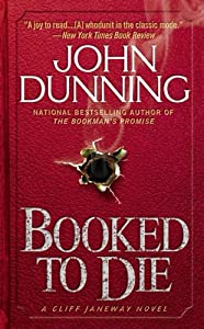"""Cover of """"Booked to Die (Cliff Janeway No..."""