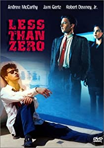 "Cover of ""Less Than Zero"""