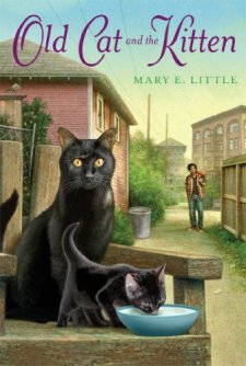 Old Cat and the Kitten by Mary E. Little| wearewordnerds.com