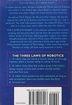 Livres Couvertures de The Complete Robot