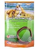 N-Bone Puppy Teething Ring Pumpkin Flavor (6 Pack)