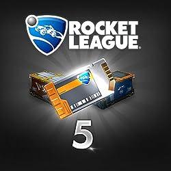 Rocket League: Rocket League Crate Unlock Key X5 - PS4 [Digital Code]