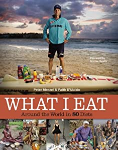 """Cover of """"What I Eat: Around the World in..."""