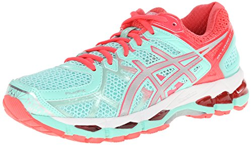 ASICS Women's Gel-Kayano® 21 Beach Glass/Silver/Pink Diva 7.5 B - Medium
