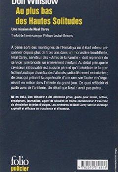 Livres Couvertures de Au plus bas des Hautes Solitudes: Une mission de Neal Carey