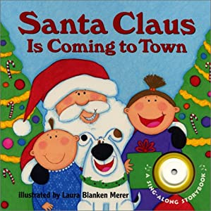 """Cover of """"Santa Claus Is Coming to Town (..."""