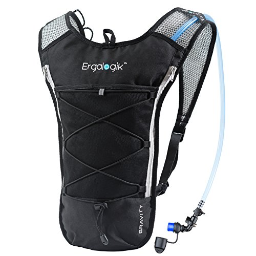 ErgaLogik Gravity 70 UltraLight 2L Hydration Pack – Great for Running,  Hiking, Cycling and Skiing a1f69c9aef