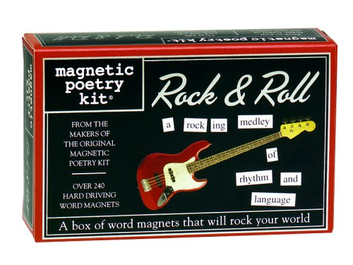 Magnetic Poetry Rock & Roll Magnetic Poetry Kit