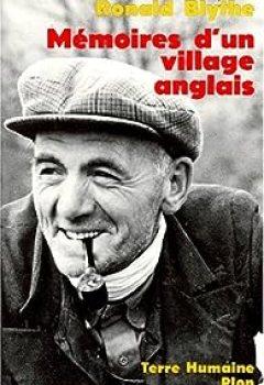 Livres Couvertures de Mémoires D'un Village Anglais