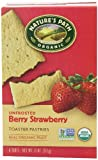 Nature's Path Organic Toaster Pastries, Berry Strawberry, 6 Count