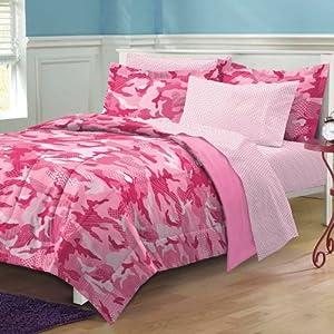 Amazon Com My Room Geo Camo Camouflage Comforter Set