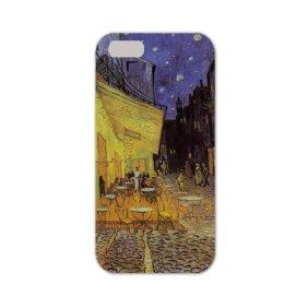 iPhone7ハードケース ゴッホ作「夜のカフェテラス(アルルのフォラン広場)」名画アイフォンケース◇