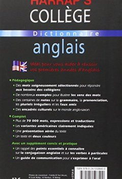 Telecharger Harrap S College Francais Anglais Anglais
