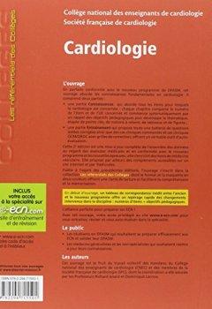 Livres Couvertures de Cardiologie: Avec accès à la spécialité sur le site e-ecn.com