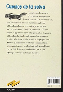 Portada del libro deCuentos de la selva (Clásicos - Tus Libros-Selección)